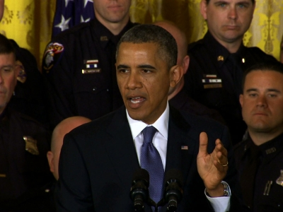 Obama honors nation's top cops