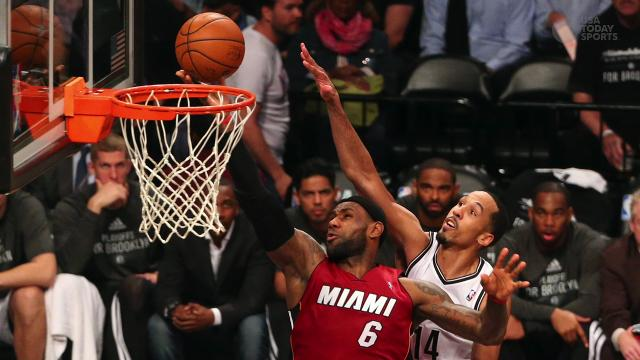 Heat-Nets Game 5 preview: Can LeBron James be stopped?