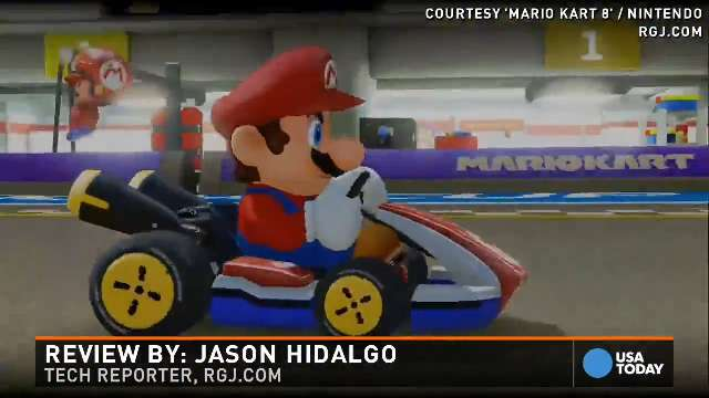 Race without gravity in 'Mario Kart 8'