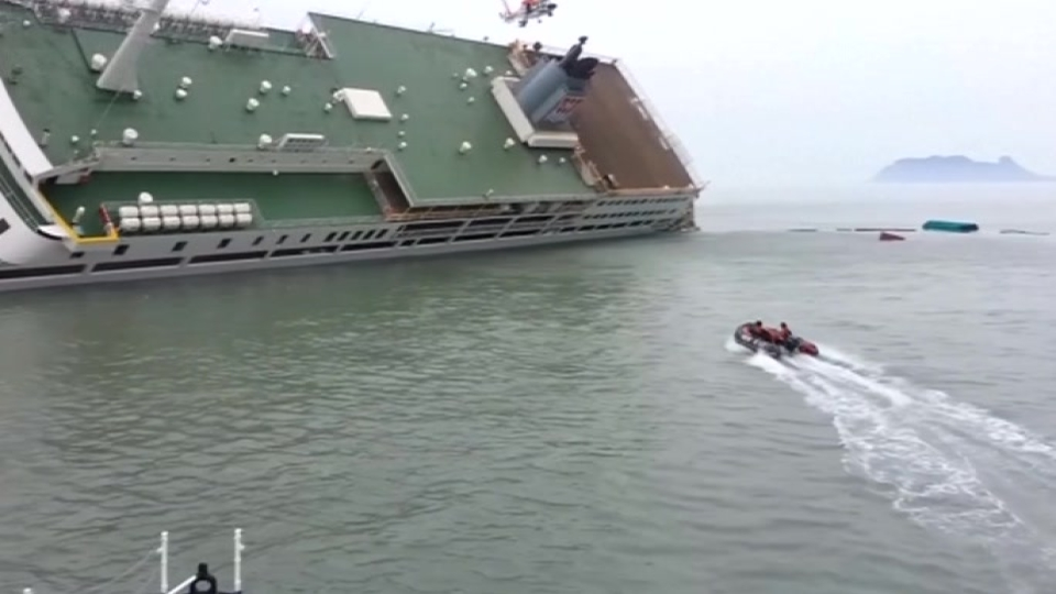 South Korea ferry captain indicted for homicide