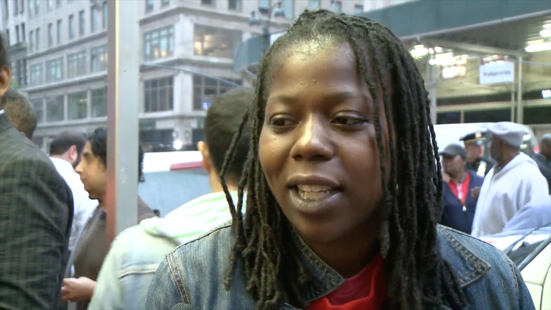 Fast food workers in New York join day of protests