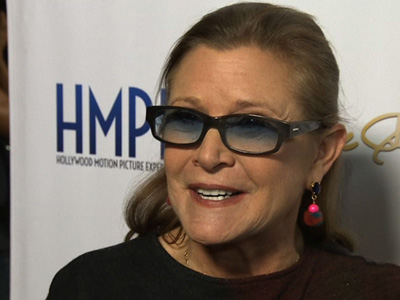 Carrie Fisher calls 'Star Wars' return 'trippy'