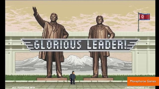 Kim Jong-Un stars in bizarre video game