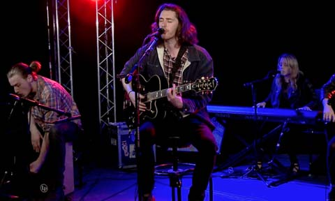 Hozier, an Irish singer/songwriter, stopped by StudioA for a show.