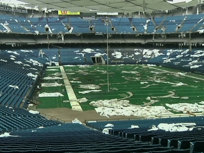 Pontiac silverdome s assets up for sale