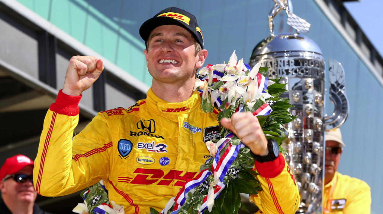 Ryan Hunter-Reay wins the Indianapolis 500