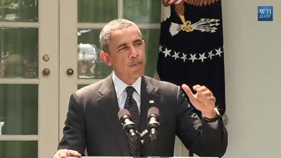 In May 2014, Obama says Afghanistan troops under 5,000 by end of 2015