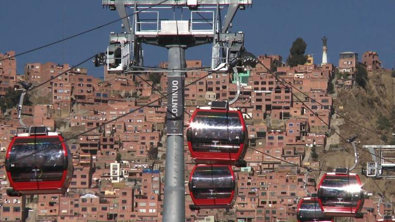 Bolivia launches world's highest cable railway