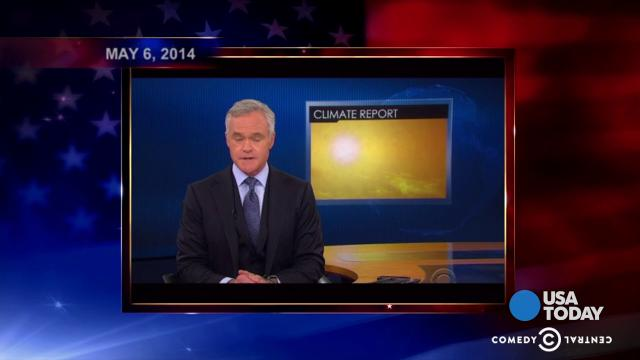 Late-night comics on the recent White House report on climate change and what can be done about it.  Take a look at our favorite jokes, then vote for yours at opinion.usatoday.com.