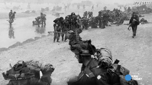 D-Day veteran recounts 'horrible scene' at Normandy | USA NOW