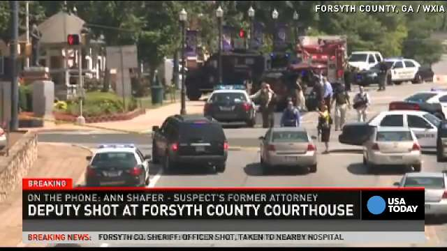 Lawyer: GA courthouse shooter was 'mentally unstable'