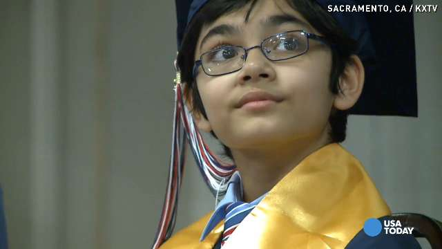 10-year-old high school grad congratulated by Obama