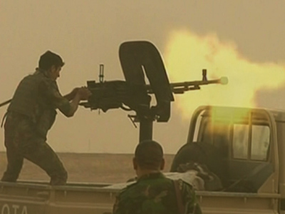 Raw: Kurds clash with ISIL in Iraq