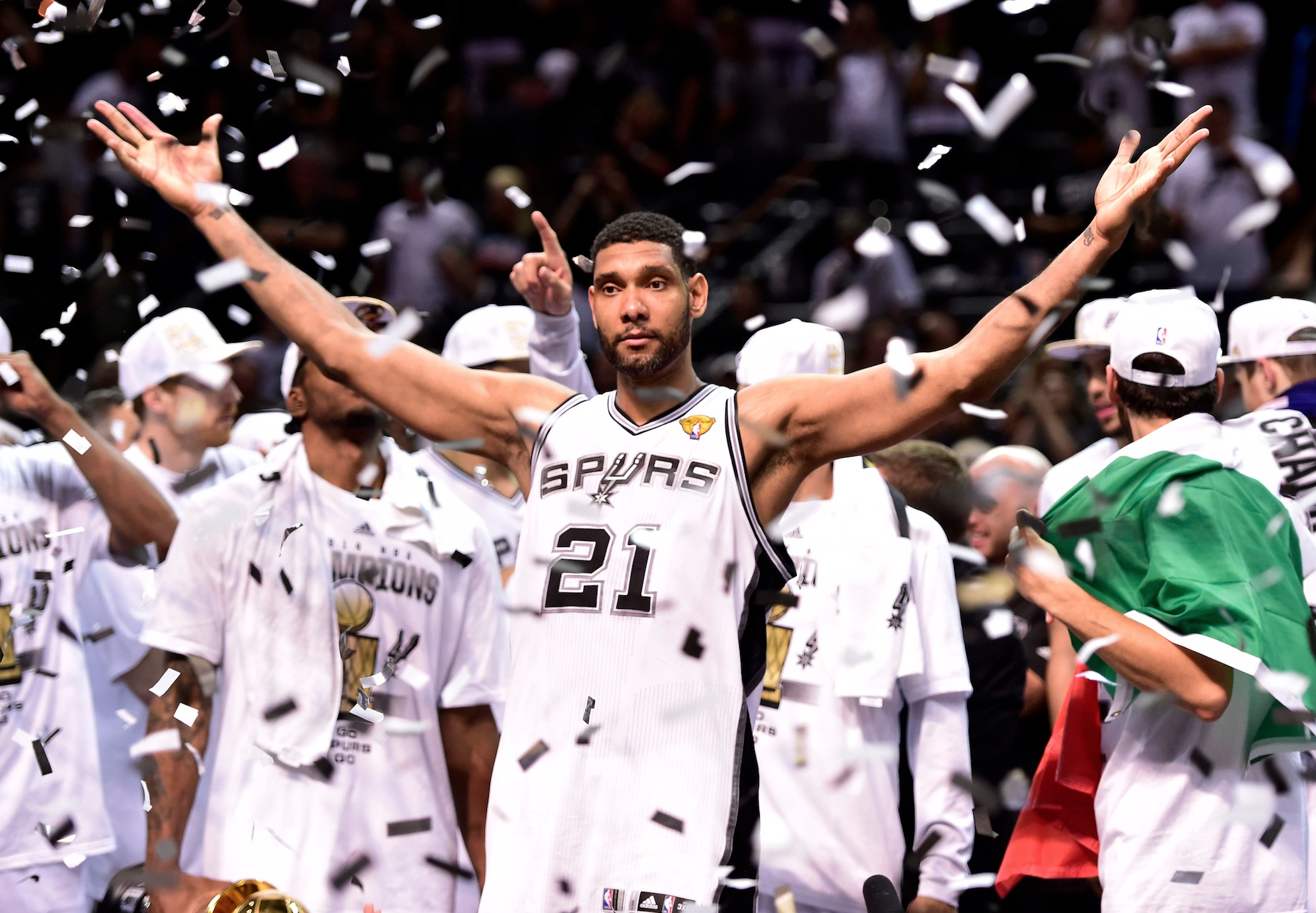 Spurs legacy hits peak with fifth title