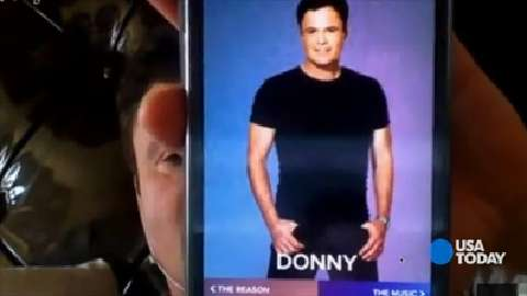 Donny Osmond releases his first app