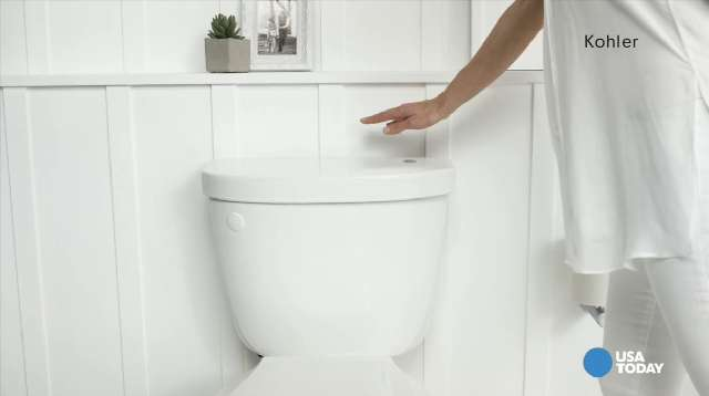 Hands off: Kohler\'s no touch-flush toilet