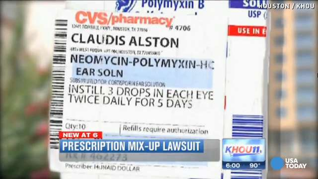 claudis alston is suing cvs pharmacy claiming he was given