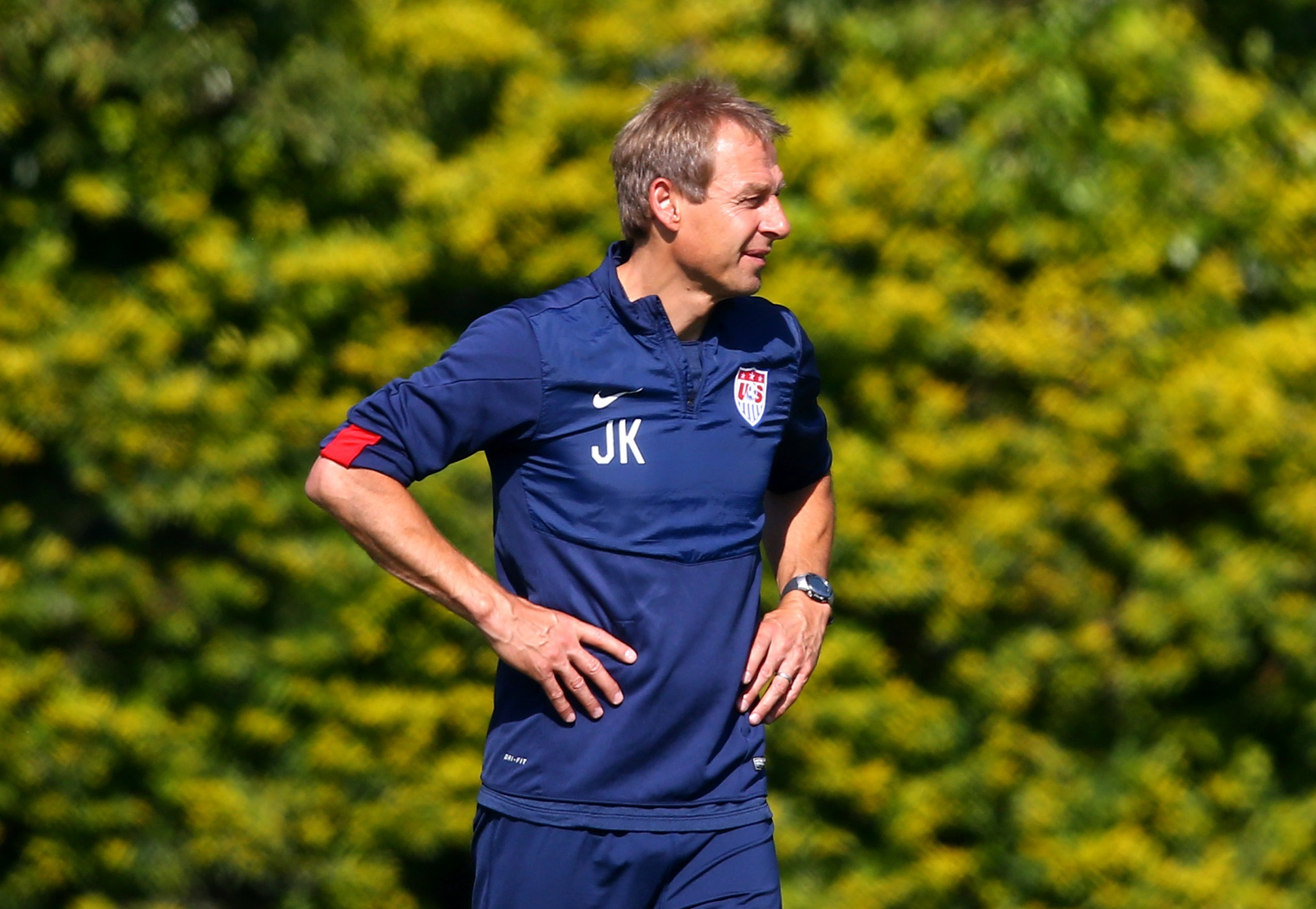 Klinsmann isn't looking for a draw with Germany