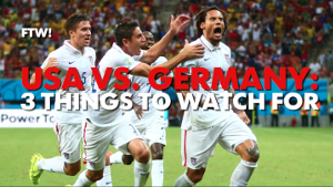 USA vs Germany: 3 Things to Watch For