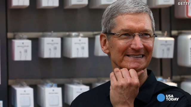 Did CNBC host out Apple's Tim Cook?