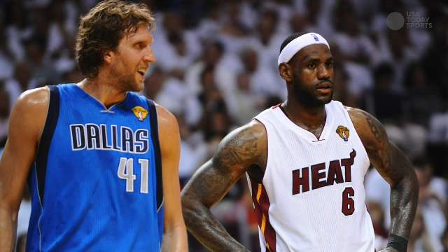 Dirk hopes for a face-to-face with LeBron