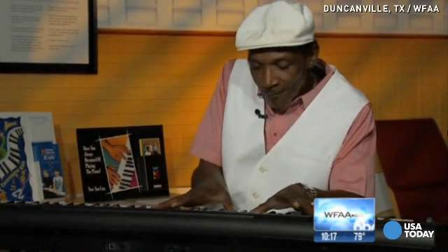 Wrongly convicted man gives gift of music