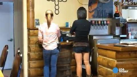 Waitresses carry guns in this Colorado restaurant
