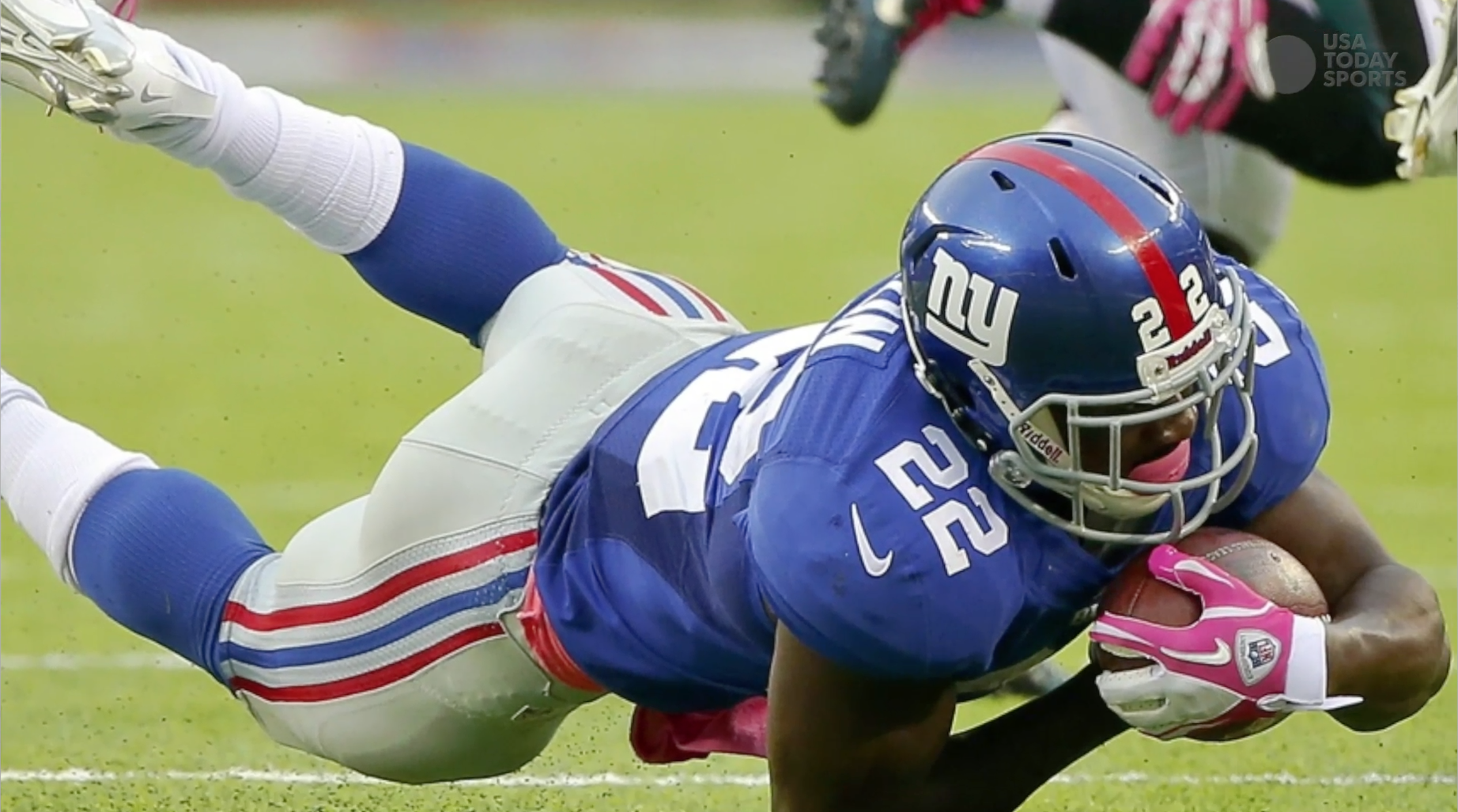 Giants camp battles: Wilson's injury gives other RBs looks