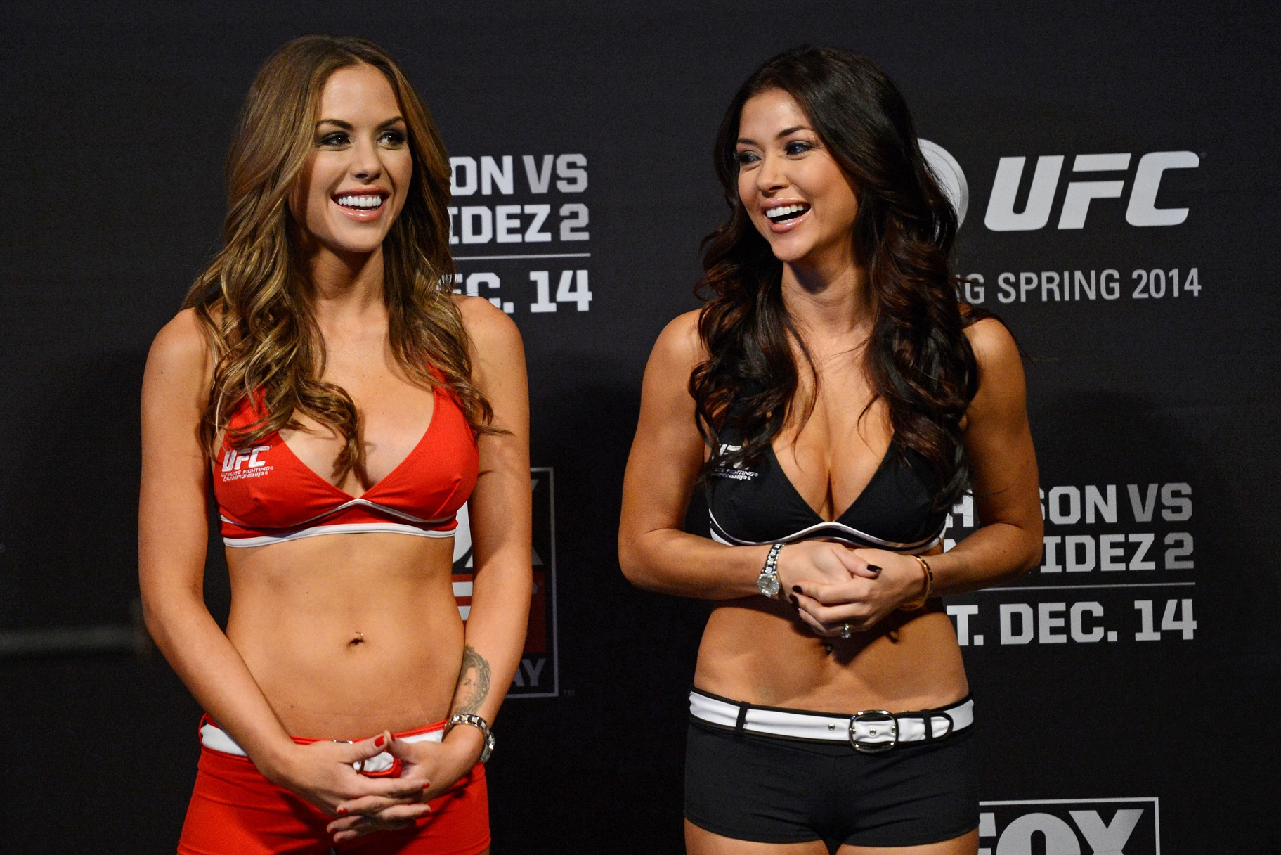 The Evolution of the UFC Octagon Girl