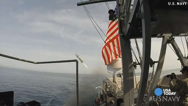 Your fireworks aren't nearly as cool as the Navy's