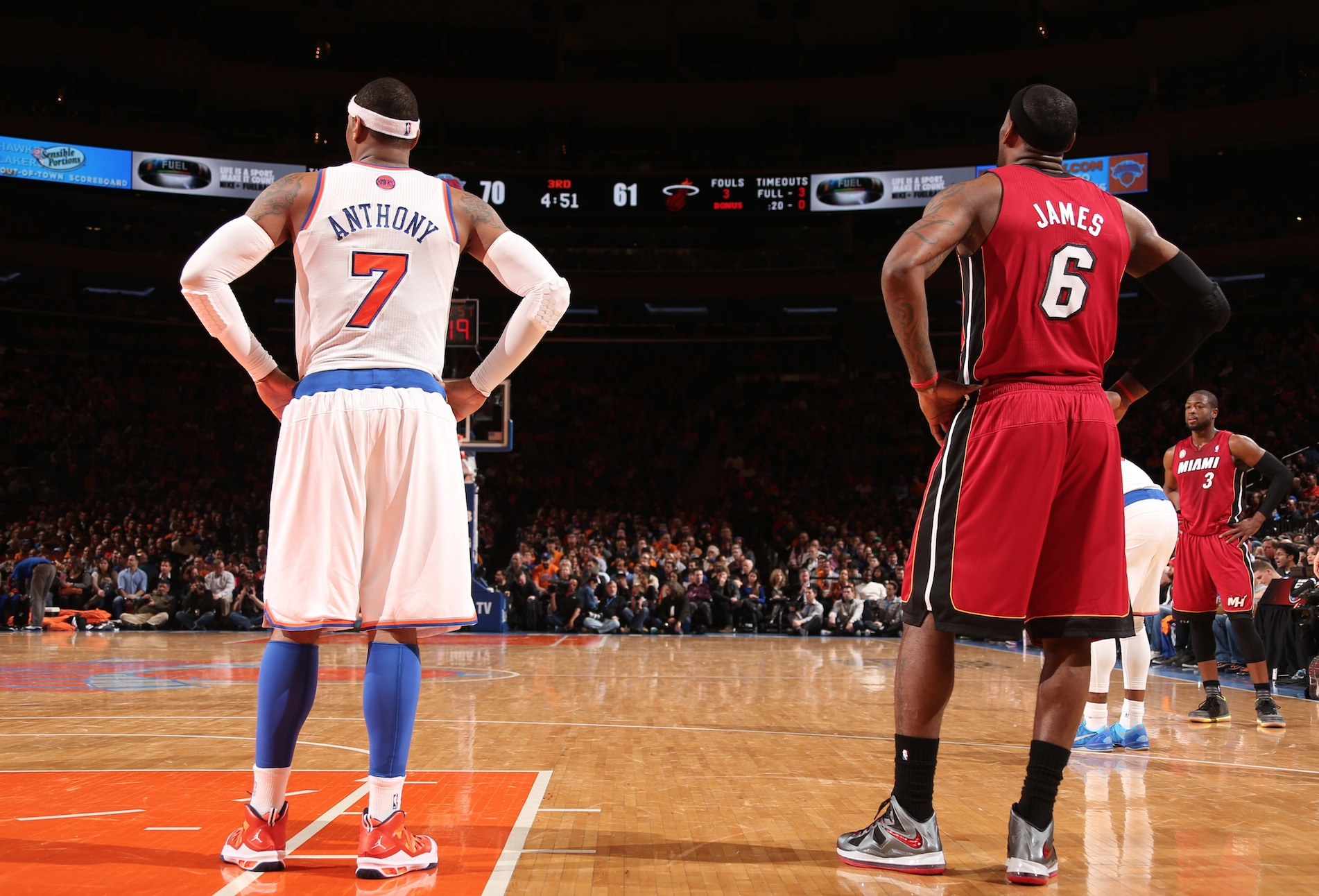 LeBron, Carmelo could spark free agency frenzy