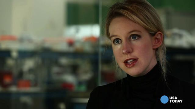 Elizabeth Holmes, Founder And CEO Of Theranos, Says Their