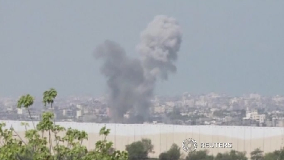 Israel intensifies military offensive against Gaza militants