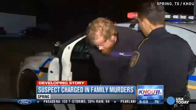 Houston-area dad accused of killing 6, including kids