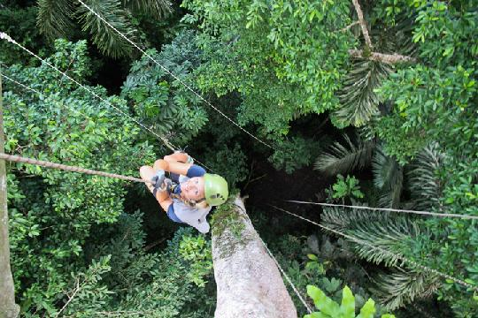 Unusual ways to explore Peru's rainforests
