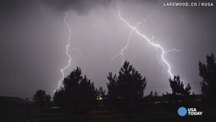 Two killed in lightning strikes