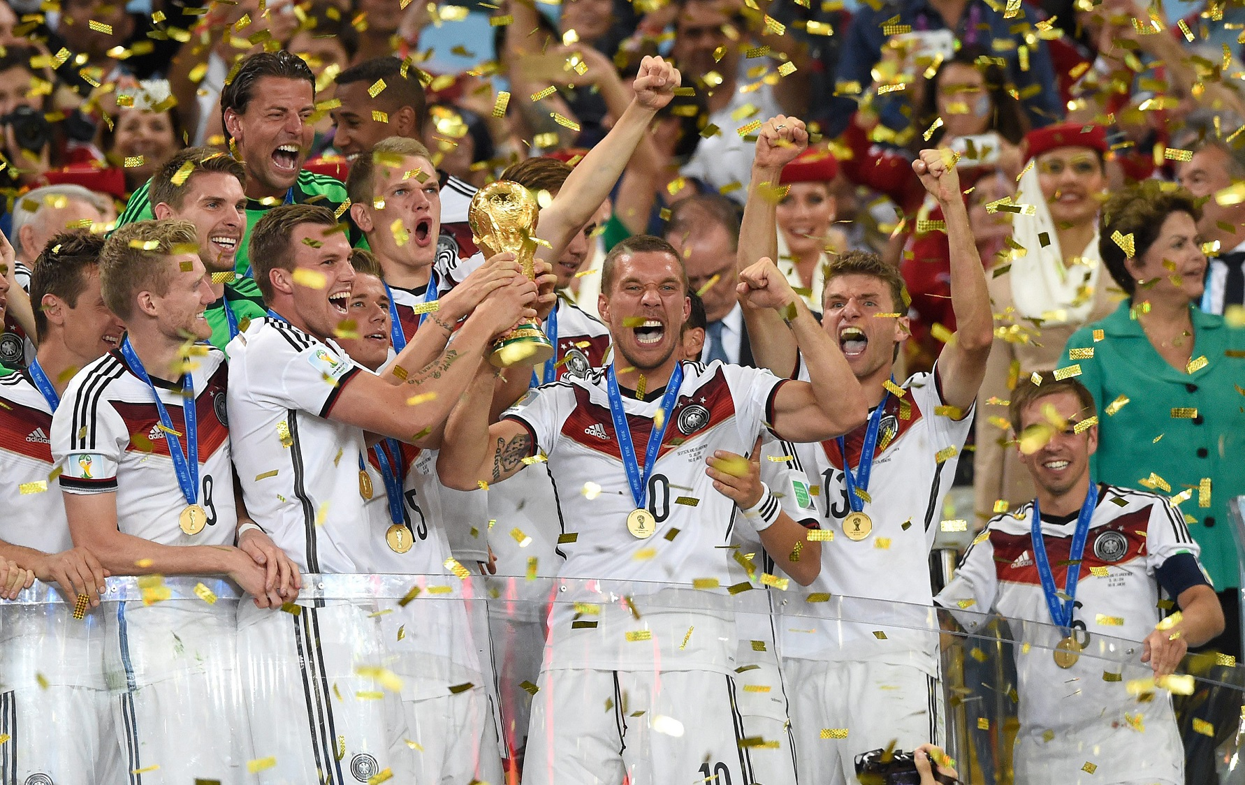 2014 World Cup final: Germany wins its fourth title