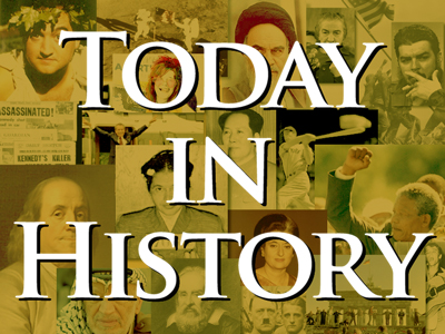 Today in History for July 13th