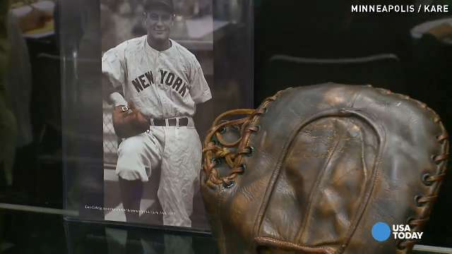 Want Lou Gehrig's autographed glove? That'll be $287K