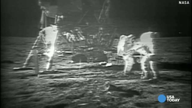 Apollo 11 anniversary: 'One giant leap for mankind'