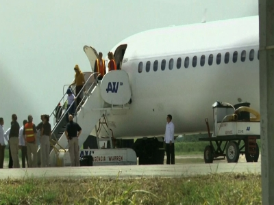 Raw: Migrants deported from US back in Honduras