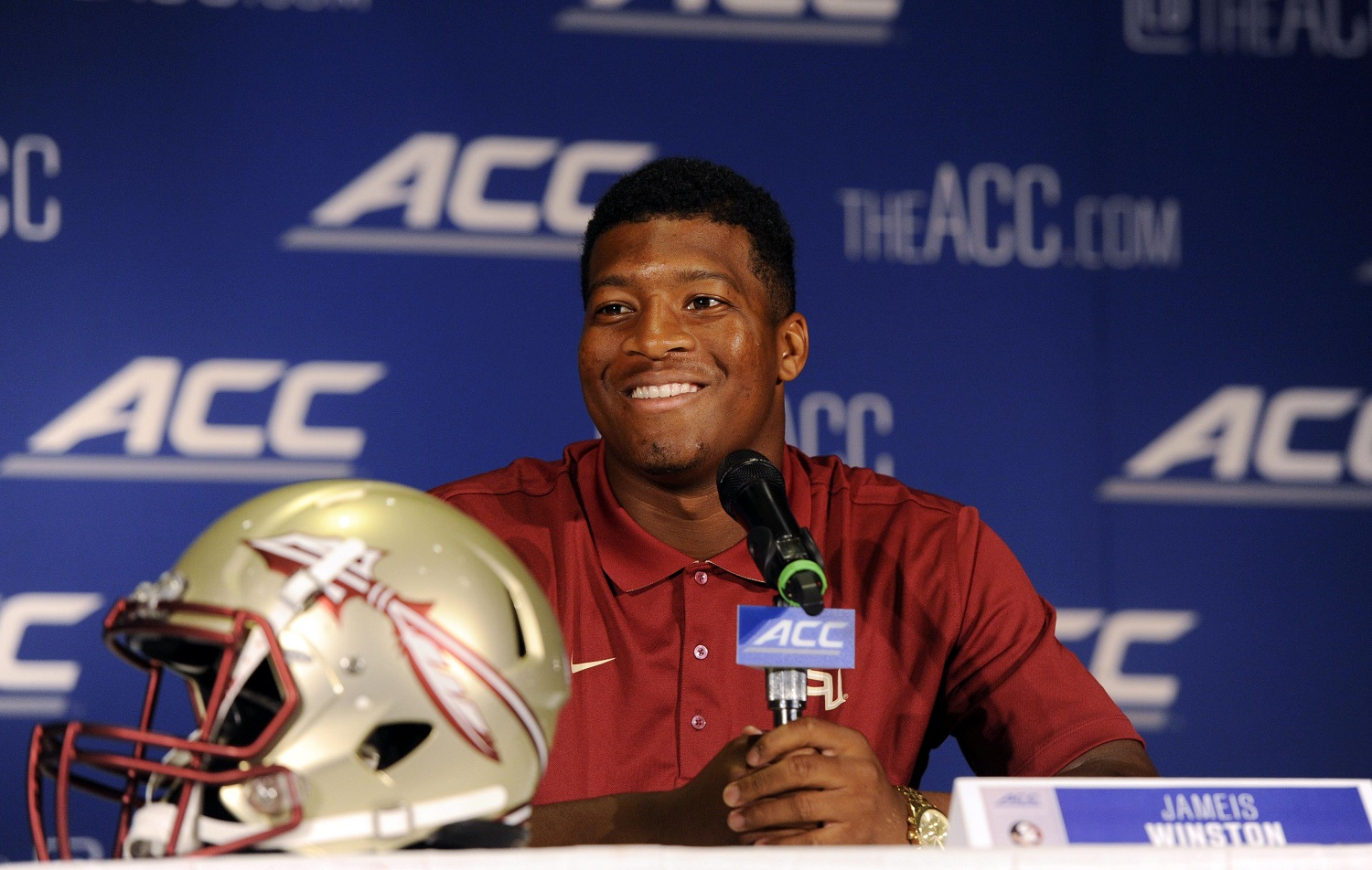 Florida State quarterback Jameis Winston discusses his eventful offseason and satisfaction that the ACC claimed the national title from the SEC.