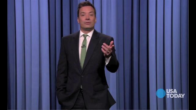 Late-night comedians talked about the shake-up in comics world. Vote for your favorite joke at opinion.usatoday.com.