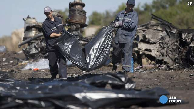 Malaysia Airlines jet crashes in Ukraine
