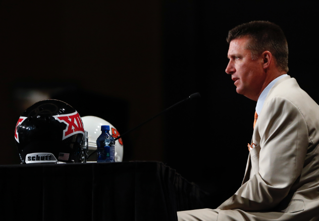 MIke Gundy not worried about NCAA sanctions