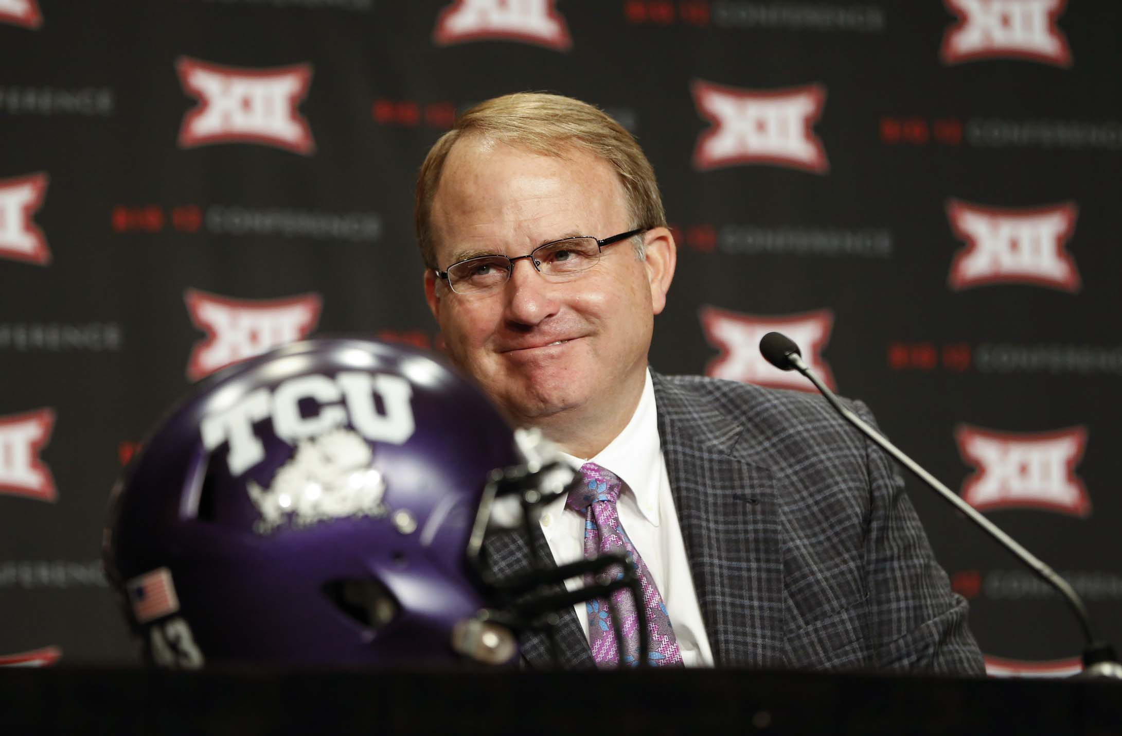 Big 12 Media Day: TCU changes offense