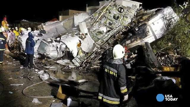 A look at deadly airline crashes in Asia