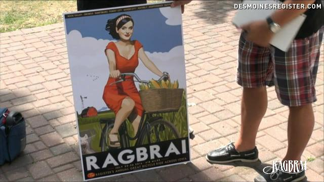Take a close look at this year's RAGBRAI poster!
