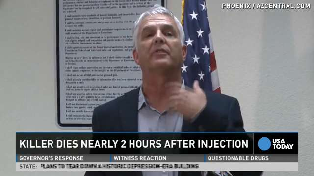 Reporter: Inmate clearly gasped during 2-hour execution