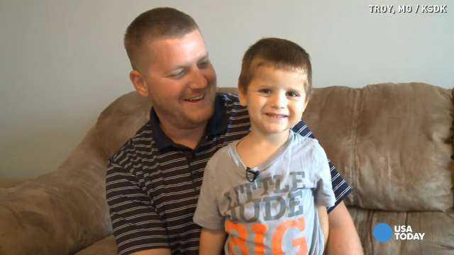 Army dad fighting new battle for toddler son
